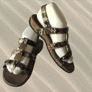 Vionic Snakeskin Sandals